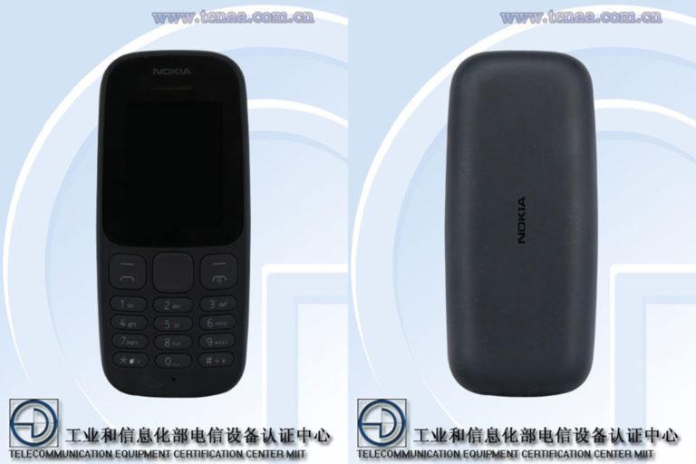 Nokia 105 TA-1034 (TENAA)